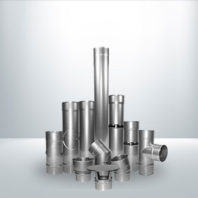 316 1mm Stainless Steel Stove Pipe