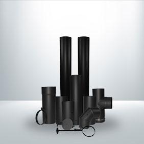 125mm Vitreous Enamel Stove Pipe